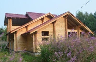 дом из бруса от производителя из Костромы