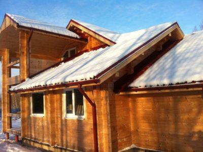 Дом из профилированного бруса для постоянного проживания в Ярославской области